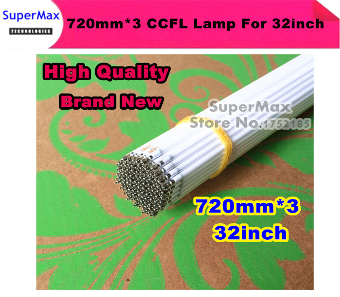 Free shipping 10PCS/LOT 32inch TV LCD CCFL 720 mm * 3 mm, LCD Backlight Lamp Cold cathode fluorescent lamps(China (Mainland))