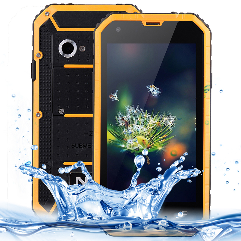 NO.1 M2 4.5 inch QHD Screen Android OS 5.0 Waterproof IP68 Shockproof Mobile Phone MTK6582 Quad Core 1.3GHz 8GB+1GB WCDMA GSM(China (Mainland))