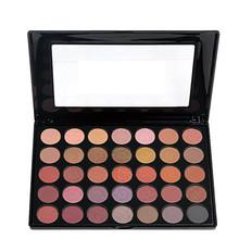 2016 New 35 Colors Eyeshadow Palette Nature Glow Shimmer Matte Eye shadow Full Professional Makeup Kit Beauty Make up Set(China (Mainland))