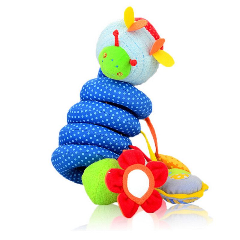 2016 new infant Toys Baby crib revolves around the bed stroller playing toy car lathe hanging baby rattles Mobile 0-12 months(China (Mainland))