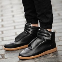 men's shoes leather shoes casual shoes with the of Yeezy free shipping(China (Mainland))