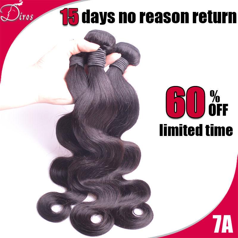 7A Unprocessed Peruvian Virgin Hair Peruvian Body Wave 100% Human Hair Bundles Weave 3pcs Lot Free Shipping(China (Mainland))