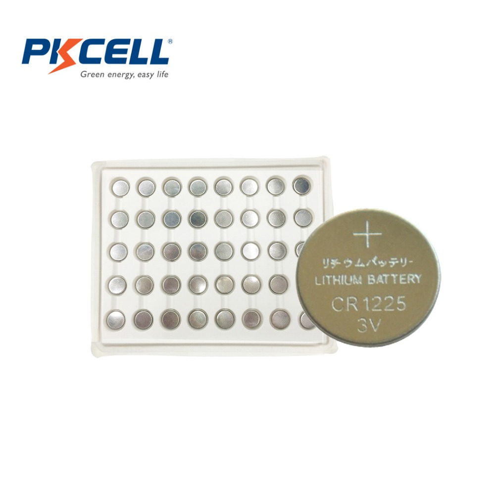 40PCS*PKCELL CR 1225 CR1225 DL1225 ER1225 3V Lithium Battery