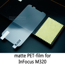 Glossy Clear Lucent Frosted Matte Anti glare Tempered Glass Protective Film On Screen Protector For InFocus M320 M320m M320u