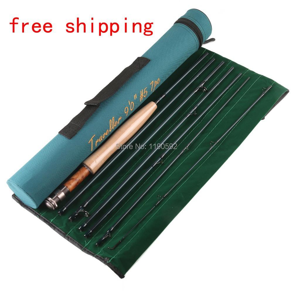 49cm traveller korean carbon 5wt traveller fly fishing rod for Shipping tubes for fishing rods
