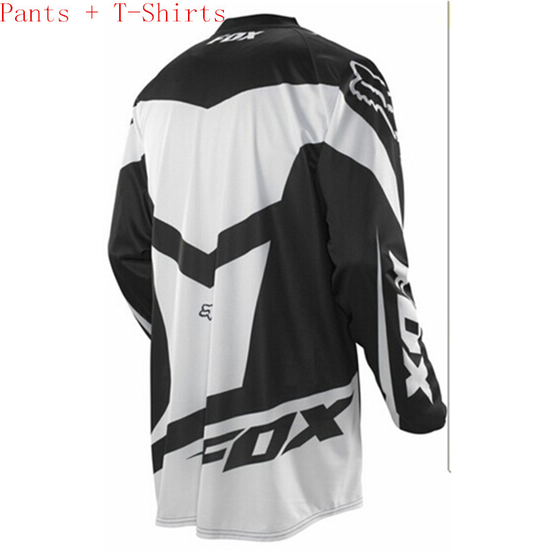 Free Shipping Pants T-shirt Race Motocross Suit motorcycle jersey moto clothing T-Shirts suits (Pants + T-Shirts)motocross pants