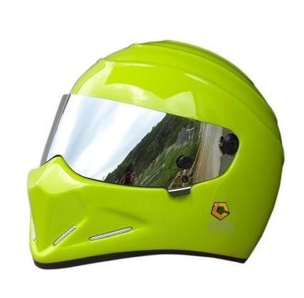 Exclusive genuine karting motorcycle safety helmets MTB Full helmet ATV-4 green