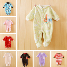 Newborn Baby Clothes Baby Boy Girls Romper Spring Autumn Baby Rompers Cotton and Polar Fleece Sleep