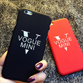 Star with For iphoneSE 5 5S 6 6S Tide brand mobile phone shell casing letter 6plus