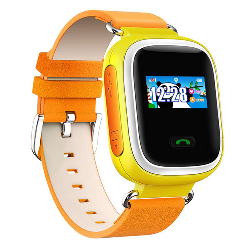 Children Smart Bluetooth WristWatch GSM Phone Watch GPS Tracking SOS Locator(China (Mainland))