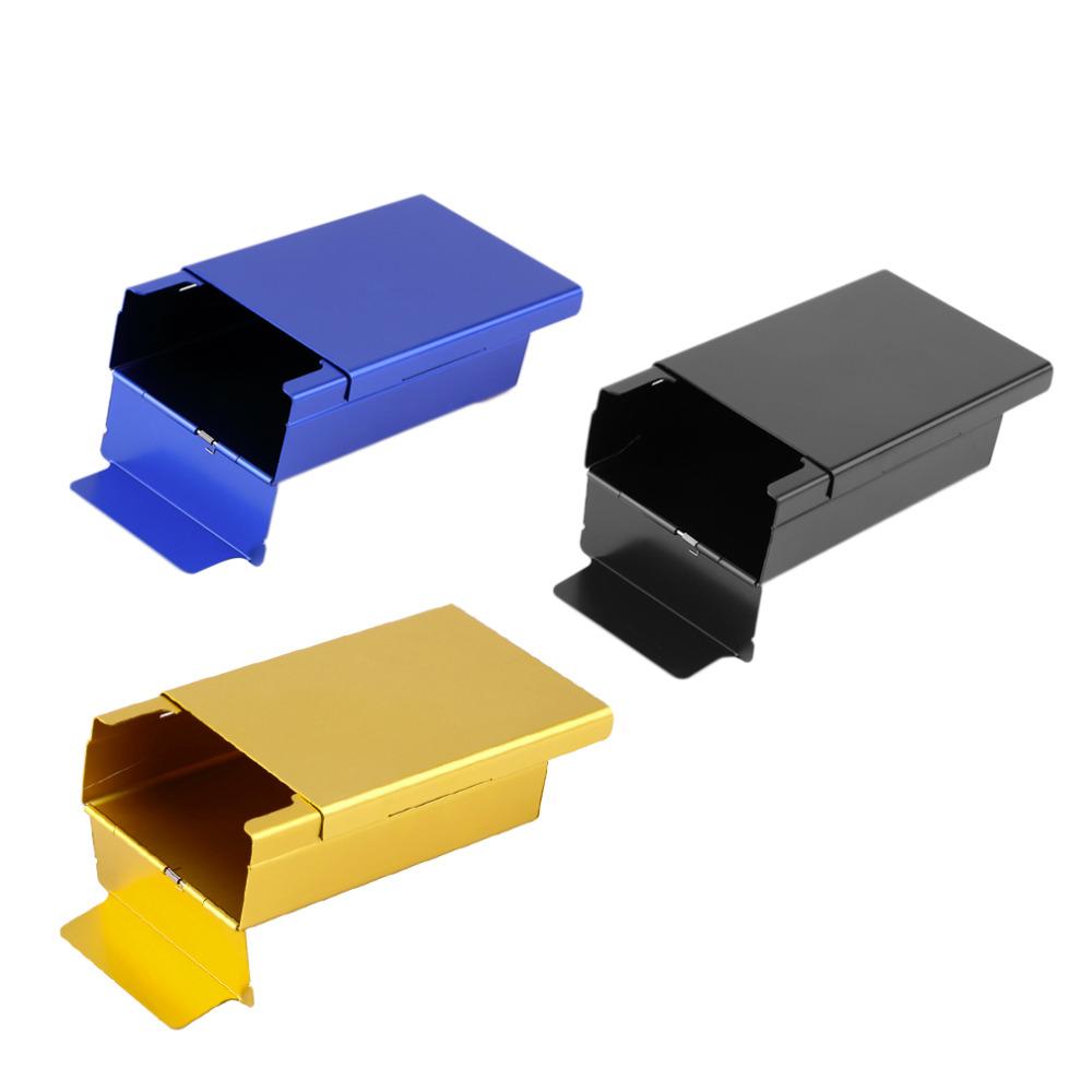 Push Open Aluminum Cigar Cigarette Tobacco Holder Pocket Storage Box Case Brand New(China (Mainland))