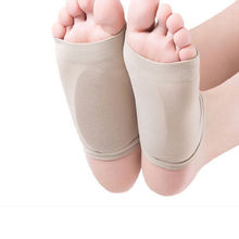 GEL Plantar Fasciitis Arch Support Sleeve Cushion Foot Pain Orthotic Heel Insole(China (Mainland))