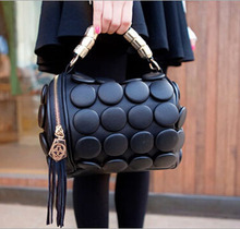 50PCS/lot Button Style Womens Bag with Tassel