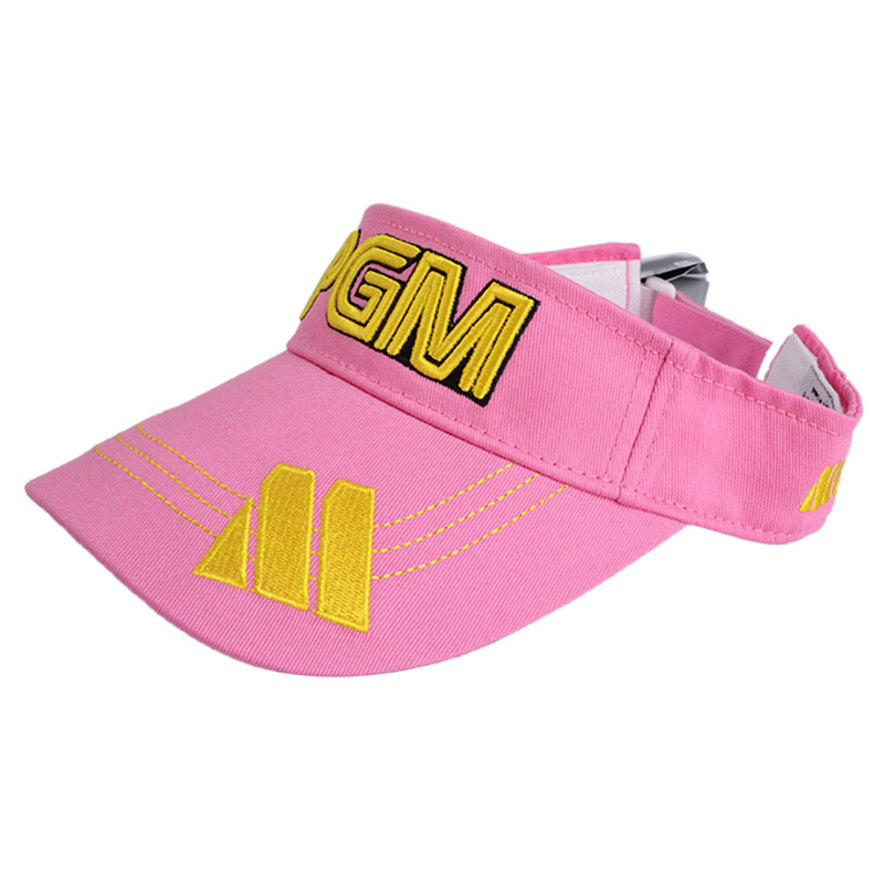 New PGM Brand Outdoor Sport 100% Cotton Solid Breathable Empty Top Snapback Golf Cap Women and Men Baseball Caps Hat 5 Colors(China (Mainland))