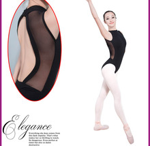 Women's Ballet Practice Clothing Sexy Back Elastic Tight Ballet Dance Costume 2016 New Arrived Adult Ballet Dancewear