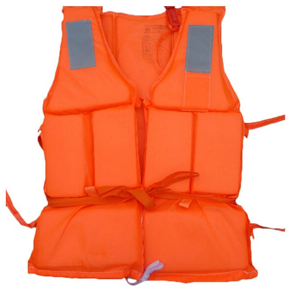 New Orange Prevention Flood Fishing Rafting Drift Sawanobori Adult Foam Life Jacket Vest Flotation Device + Survival Whistle(China (Mainland))