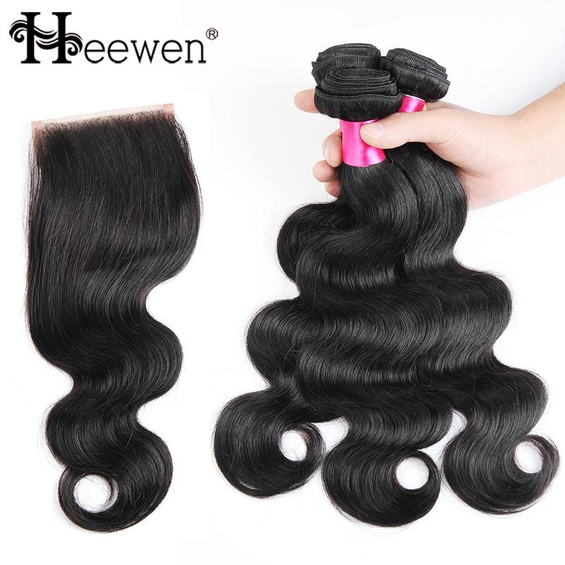 7A Grade Peruvian Virgin Hair Body Wave With Closure 3/4 Pcs Peruvian Body Wave With Closure Human Hair Weave With Closure<br><br>Aliexpress