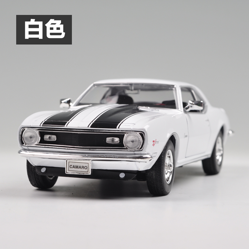 Brand New WELLY 1/24 Scale Car Model Toys 1968 Chevrolet Camaro Z28 Diecast Metal Car Toy For Collection/Gift(China (Mainland))