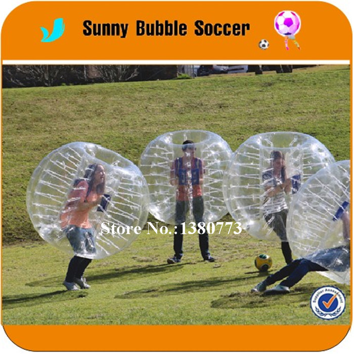 1.5M 1.0mm TPU Top Selling Giant Inflatable Bubble Ball,Zorb,Bubble Soccer Suits,Bumper Ball,Loopy Ball,Human Hamster Ball(China (Mainland))