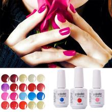 220 Цветов 15 мл Arte Clavo 1 Шт. Лак Светодиодных УФ-Гель Наклейки для ногтей Soak Off Гель Для Ногтей Лето Цвет Лак Для Ногтей Гелем(China (Mainland))