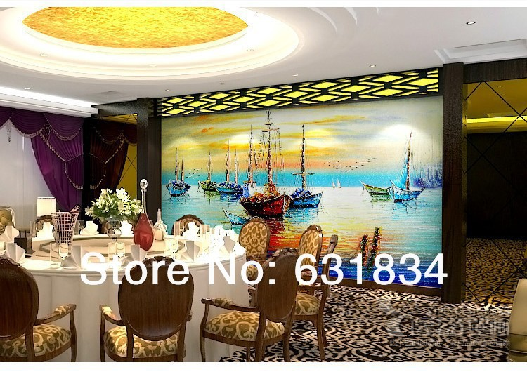 Free shipping!  2013  New Large HD  Amazing Battles Mural Wallpaper Bedroom Living Room Settings