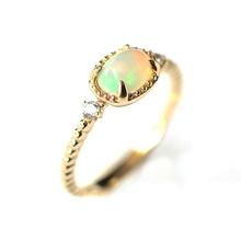 Природный Опал Кольцо Стерлингового Серебра 925 Коктейль Кольца для Женщин Подарок(China (Mainland))