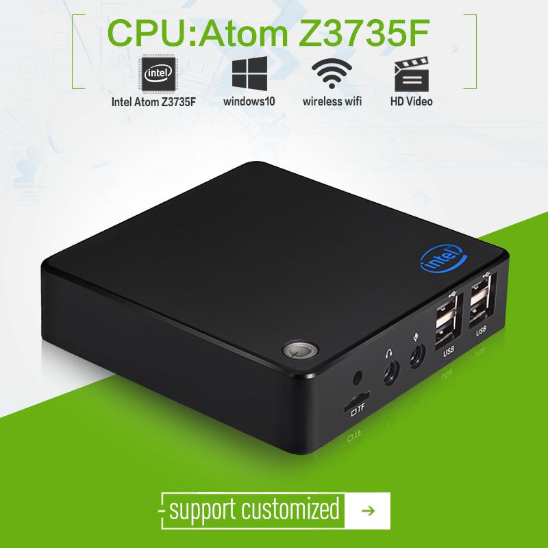 2015 newest ! XCY X-Z3735F tiny cloud terminal quad-core atom 1.33ghz 2G RAM 32G SSD htpc tv living room computer(China (Mainland))
