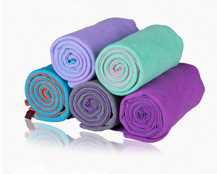 Superior Quality 185*63cm Microfiber Yoga Towel Yoga Mat Blanket Sweat absorbing slip-resistant antibiotic Eco-friendly(China (Mainland))