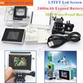 3 In1 XiaoMi Yi Lcd display Screen Extend Battery Xiaomi Yi Case Waterproof Housing Box Adapter