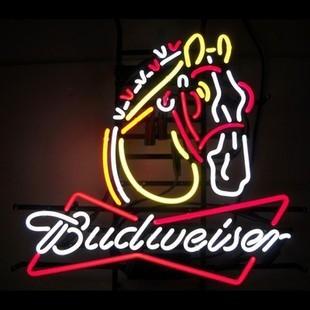 20*16 inches modern decorative budweiser bar neon tube sign free shipping