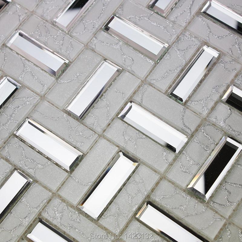 crystal glass tile backsplash black glass mosaic tiles