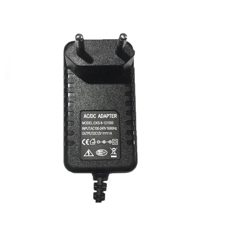 Гаджет  AC 100-240V DC 12V 1A EU Plug AC/DC Power Adapter Charger Power Adapter for CCTV Camera (2.1mm * 5.5mm) None Безопасность и защита