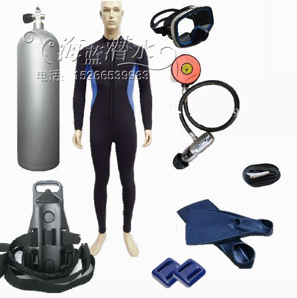 Diving equipment full range of professional diving kit, combination / Scuba Diving Equipment / store 12L cylinder(China (Mainland))
