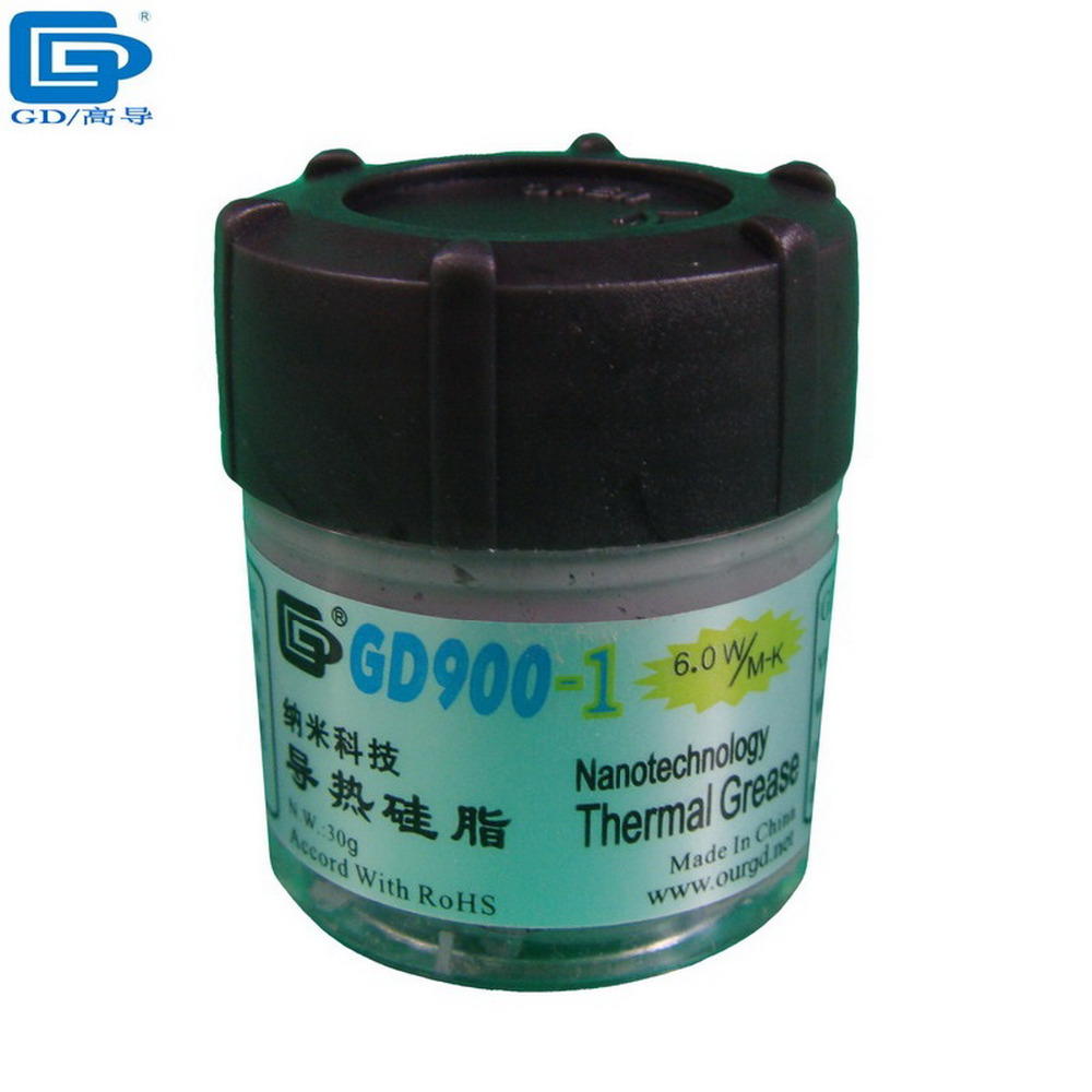 GD N.W. 30g Gray GD900-1 Containing Silver GPU PS3 VGA LED CPU Cooler Fan Heat Sink Compound Thermal Grease Paste Silicone CN30(China (Mainland))