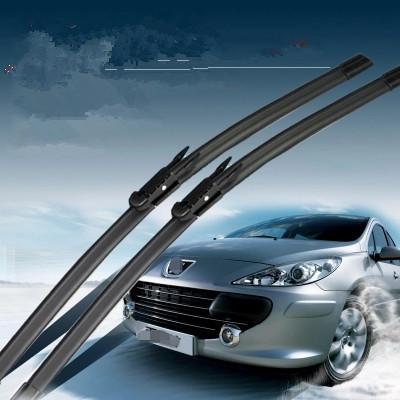 28+26 Soft Rubber Windscreen Wipers Windshield Wiper Blade For Peugeot 307 2000 2001 2002 2003 2004 2005 2006 2007 2008 <br><br>Aliexpress