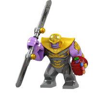 Única Venda Super Heróis Série Longe de Casa Blindado Homem De Ferro Do Homem Aranha Grandes Figuras Presentes Brinquedos de Blocos de Construção Tijolos(China)