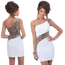 2015 NEW HOT Womens Summer Sequins BodyCon Lace  Sexy Party Cocktail MINI Dress Free Shipping(China (Mainland))