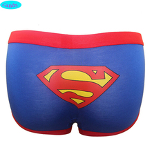 14-18 years youth boys boxers underwear high quality cheap price modal material superman printed panties free size 4 colors B7