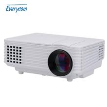 2016 New Original EC77 LED Projector Full HD multimedia Mini Portable Home Theater 1080P ATV  beamer video portable proyector(China (Mainland))