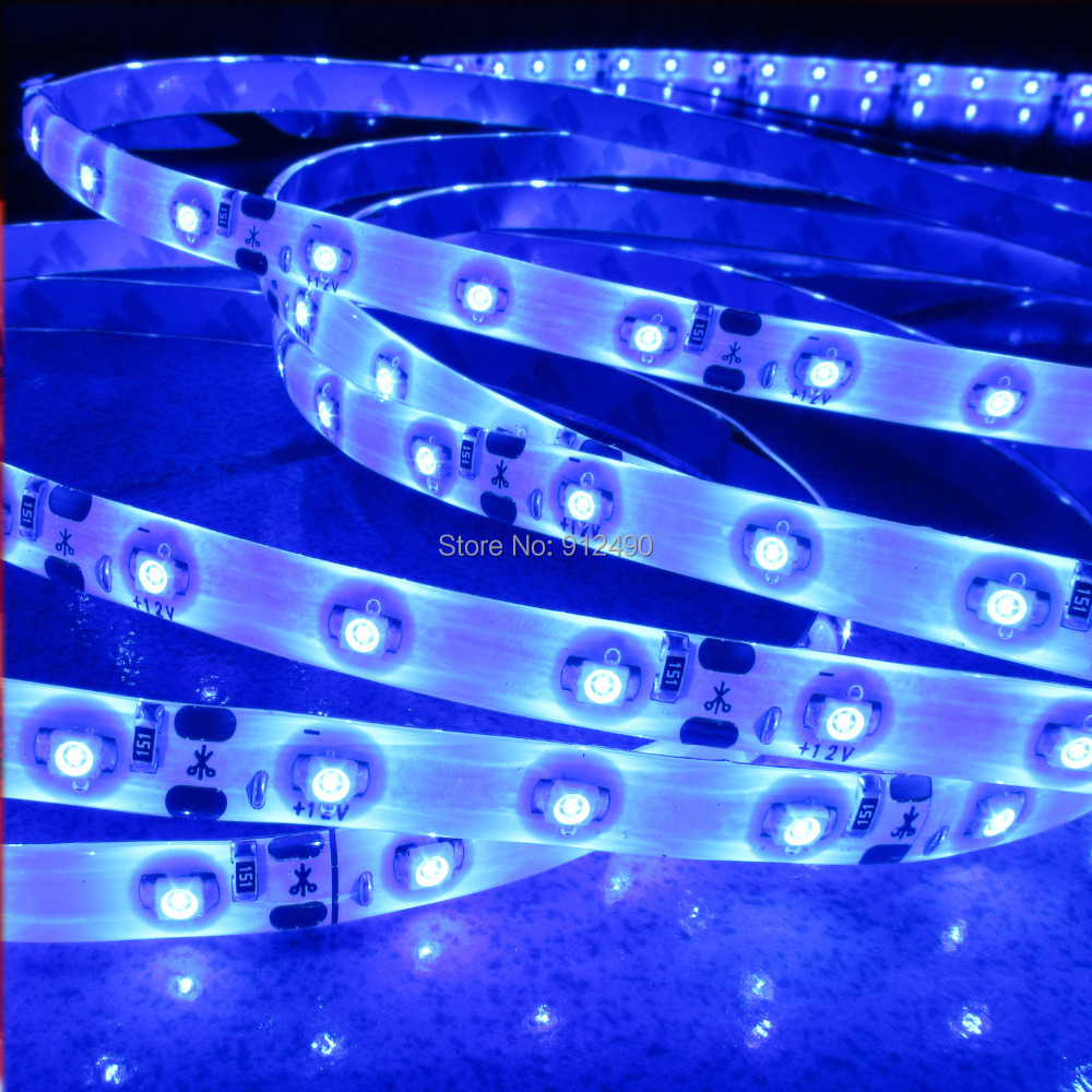 Free shipping 1m/lot 3528 1m 60 led strip light, 12v waterproof 3528 60led/m Flexible Light Led Tape Home Decoration Lamps(China (Mainland))