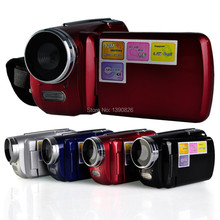 Free Shipping 12MP 720P HD Digital Video Camera with 4 x Digital Zoom, 1.8 LCD Screen Mini DV Digital Camcorder(China (Mainland))