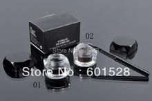Wholesale High quality cosmetics no shading eyeliner liquid eyeliner 5 g 1# black +brush  HZP201-045(China (Mainland))