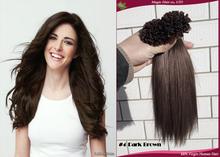 "nail Kit keratin hair u tip hair extensions aplique de cabelo humano natural Free shipping 22""24inch 100s 50/70/100g Wholesale"