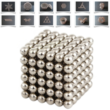 New Style 3mm 216pcs Neodymium Magnetic Balls Spheres Beads Magic Cube Magnets Puzzle Birthday Present Children Gift EA10534(China (Mainland))