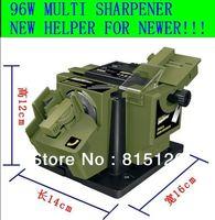 Most Free Shipping 96W 220V / houlehold Muti Sharpener  kitchen knife/ scissors/bit/chisel sharpening machine Grinding bit