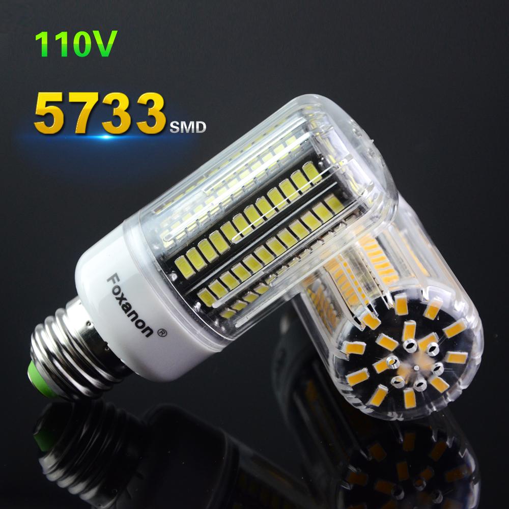 25W to 100W White / Warm White Home Art Decor Lamp Led Light E27 110V 30 42 64 80 108 136Led Bulbs Power As Incandescent Lamp(China (Mainland))