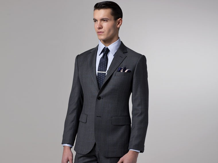 Dark Grey Slim Fit Suit