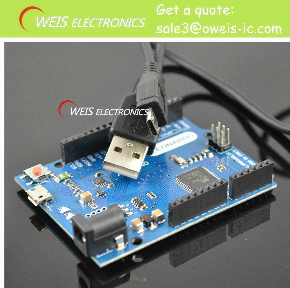 2set Leonardo R3 development board Board + USB Cable compatible arduino MEGA32U4-AU ATMEGA32U4-AU ATMEL Free shipping Y,(China (Mainland))