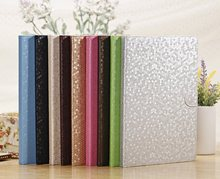 Magnetic leather case for iPad air , for apple iPad 5 cover iPad air cases with diamond patterns free shipping(China (Mainland))