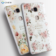Huawei Honor 5X TPU Case 3D Relief Coloured Pattern Silicon Back Cover For Huawei Honor 5X Play Phone Bag Cases